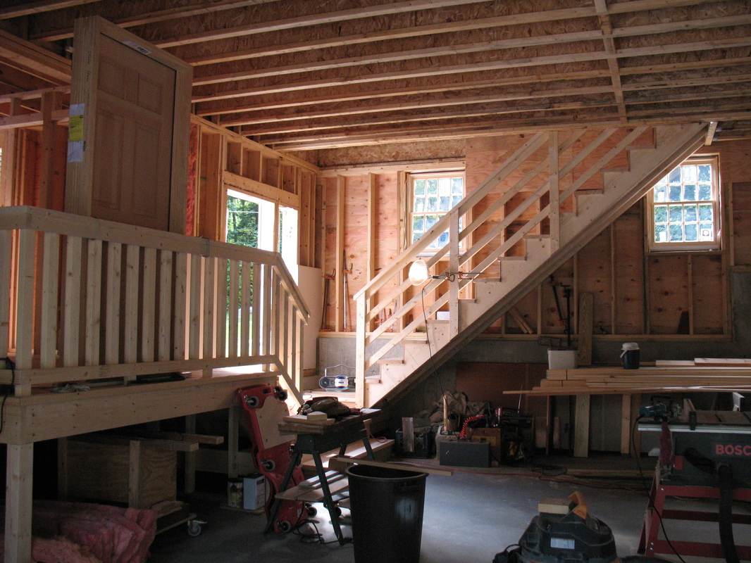 Barn and breezeway for Breezeway flooring ideas